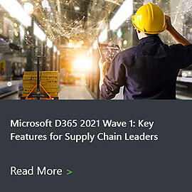 Microsoft D365 2021 Wave 1 Guides Supply Chain