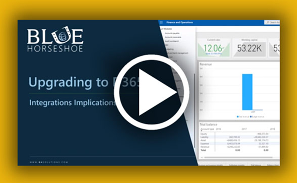 Upgrading to D365: Integration Implications video link